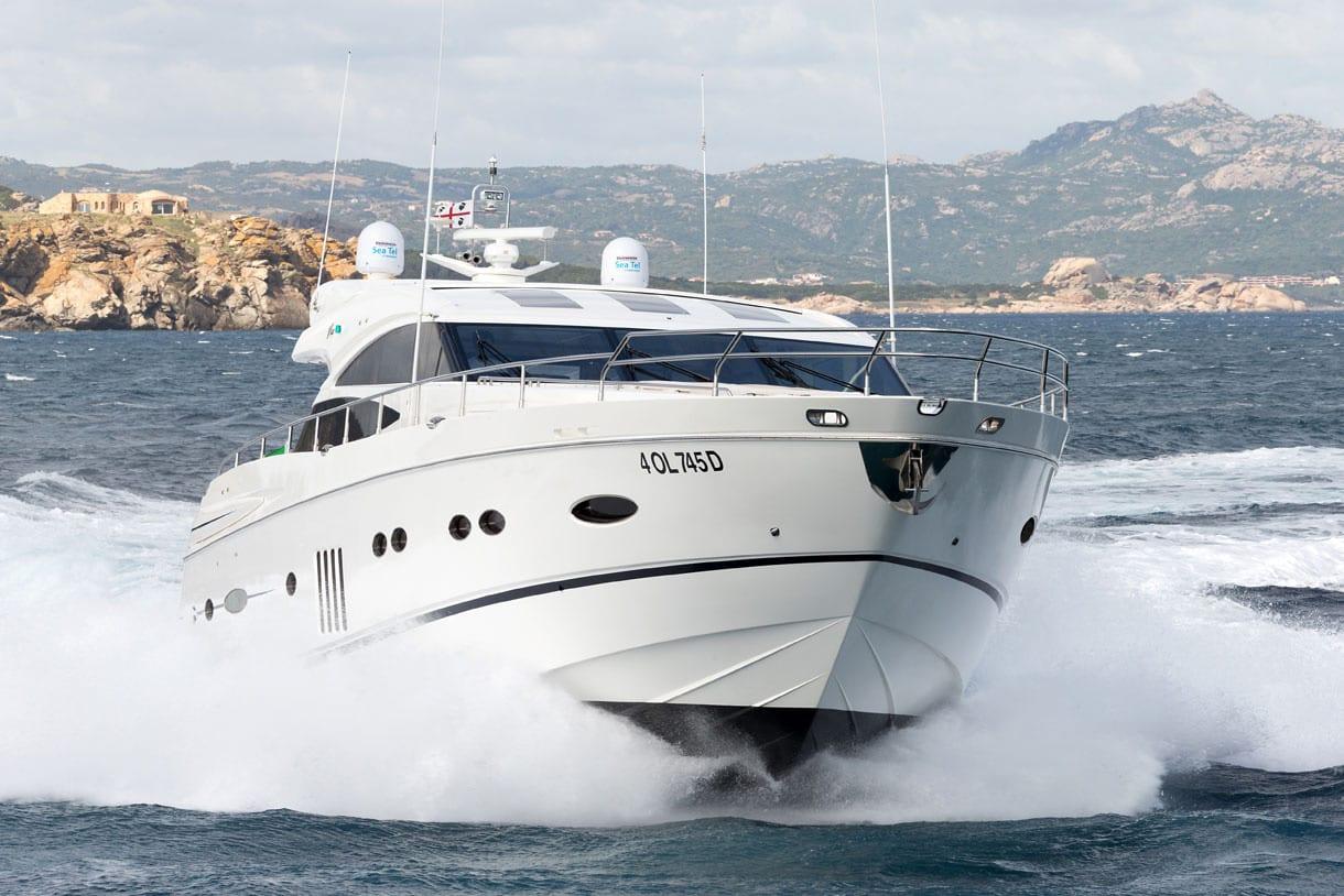 Sestante Yachts - Princess V78 - Yachts Charter Porto Cervo (1)
