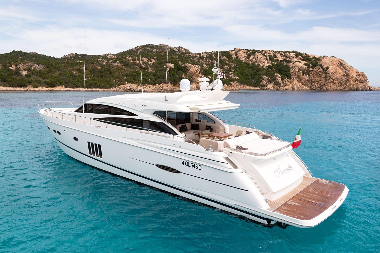 Sestante Yachts - Princess V78 - Yachts Charter Porto Cervo (2)