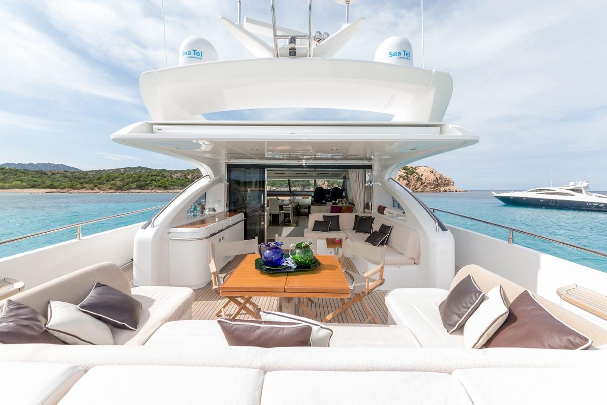 Sestante Yachts - Princess V78 - Yachts Charter Porto Cervo (3)