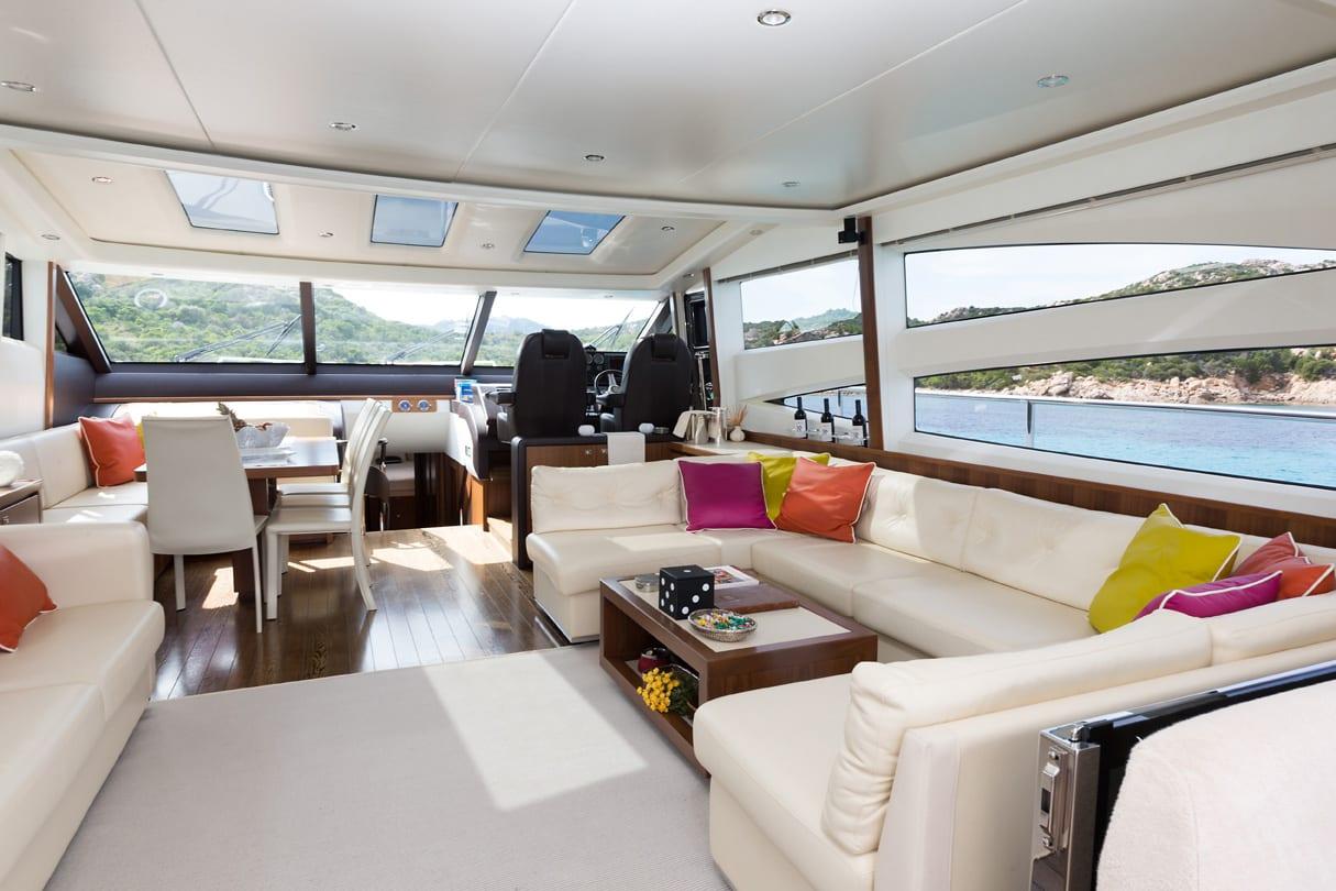 Sestante Yachts - Princess V78 - Yachts Charter Porto Cervo (6)