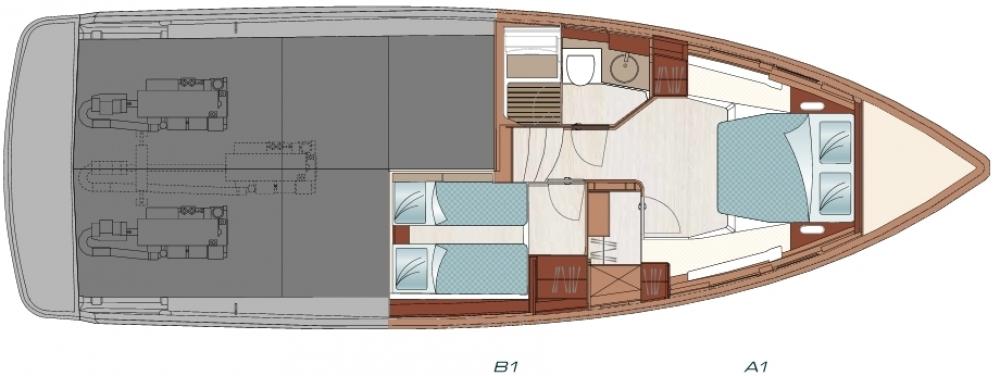 Sestante Yachts dealer esclusivo Fjord Sardegna - Fjord 48 (11)