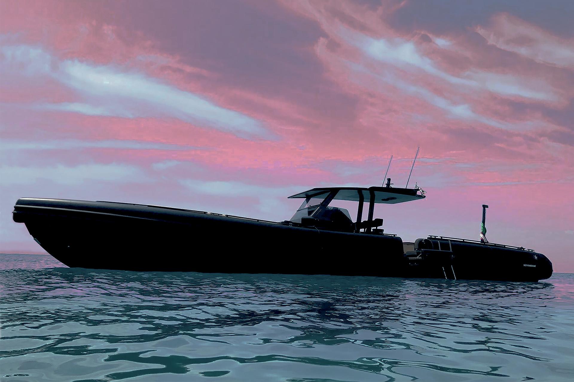 Sestante Yacht Charter Costa Smeralda Novamarine Black Shiver 120 (3)